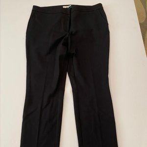 NWOT Boden black straight leg pants Size 16